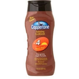 Coppertone 8-ounce Sunscreen Lotion SPF 4
