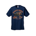 MEN'S T-SHIRT 'RUSTY NUTS AUTO SHOP' USED PARTS CAR AUTOMOBILE S-XL 2X 3X 4X 5X - Thumbnail 4