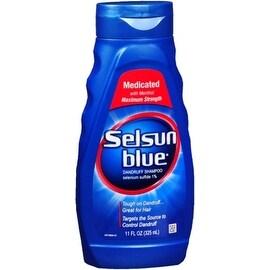 Selsun Blue 11-ounce Dandruff Shampoo Medicated