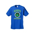 Men's T-Shirt Blunts Institution Of Higher Learning Uni. 420 Weed Pot Marijauna - Thumbnail 7