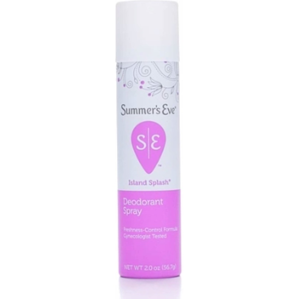 Summer's Eve Feminine Deodorant Spray Island Splash 2 oz