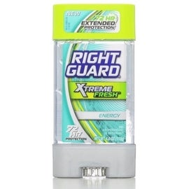 Right Guard Xtreme Anti-Perspirant & Deodorant, Gel, Fresh Energy 4 oz