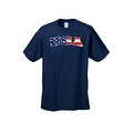 Men's T-Shirt USA Flag American Pride Stars & Stripes Old Glory Vet Tee Patriotic - Thumbnail 4