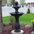 Sunnydaze Two-Tier Pineapple Solar-on-Demand Fountain, 46 Inch Tall - Thumbnail 15