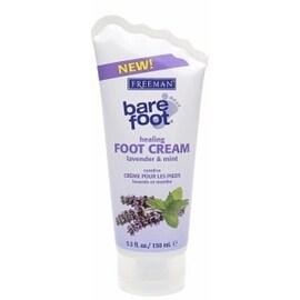 Freeman Bare Foot Healing Foot Cream Lavender & Mint 5.30 oz