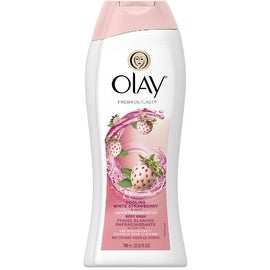 OLAY Fresh Outlast Cooling Body Wash, White Strawberry & Mint 23.6 oz