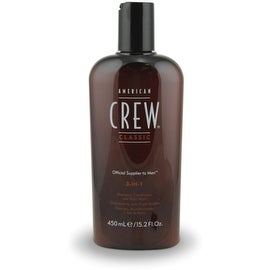 American Crew Classic 3-in-1 Shampoo, Conditioner & Body Wash, 15.2 oz
