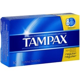 Tampax Tampons Regular 10 Each