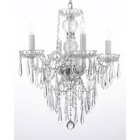 New Authentic All Crystal Chandelier Lighting With Crystal Icicles