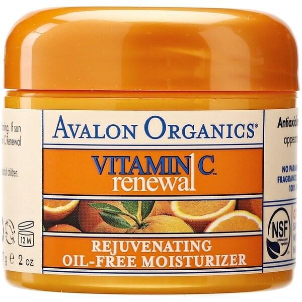 Avalon Organics Vitamin C Renewal Rejuvenating Oil-Free Moisturizer 2 oz