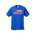 Men's T-Shirt USA Flag Pride 100-percent American Stars & Stripes Old Glory Patriotic Tee - Thumbnail 3