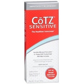 Cotz 3.5-ounce Sensitive Sunscreen SPF 40