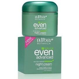 Alba Botanica Natural Even Advanced Sea Plus Renewal Night Cream 2 oz