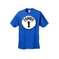 Men's T-Shirt Zombie 1 Thing 1 Circle Team Undead Virus Bitters Walkers Tee S-5XL - Thumbnail 0