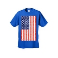 Men's T-Shirt USA Flag American Pride Stars & Stripes Old Glory Tee Distressed - Thumbnail 3