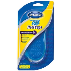 Dr. Scholl's Massaging Gel Heel Cups Medium (1 Pair)