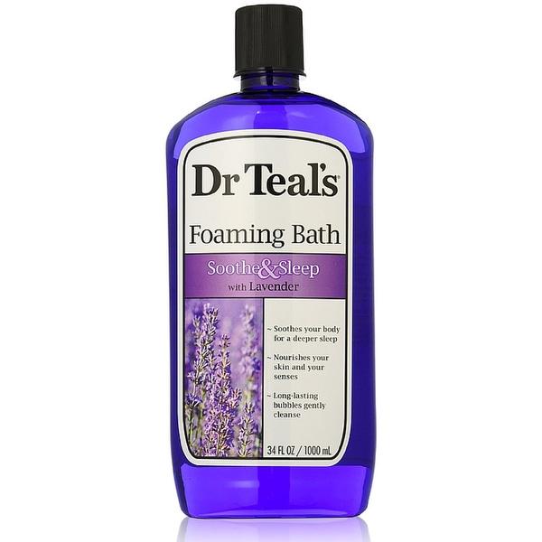 Dr Teal's Foaming Bath, Soothe & Sleep 34 oz
