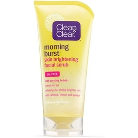 CLEAN & CLEAR Morning Burst Skin Brightening Facial Scrub 5 oz