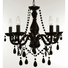 jet black crystal chandelier lighting light fixture black crystal chandelier lighting