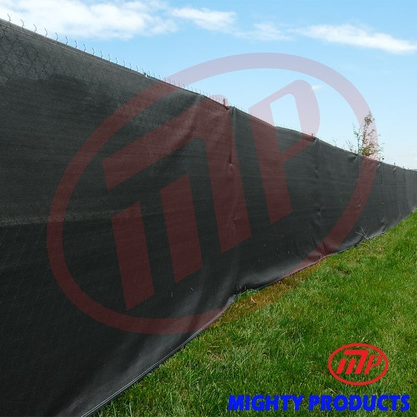 Xtarps - Size: 6 ft. x 16 ft. - Premium Privacy Fence Screen 90% Blockage, BLACK color