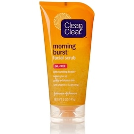 CLEAN & CLEAR Morning Burst Facial Scrub Oil-Free 5 oz
