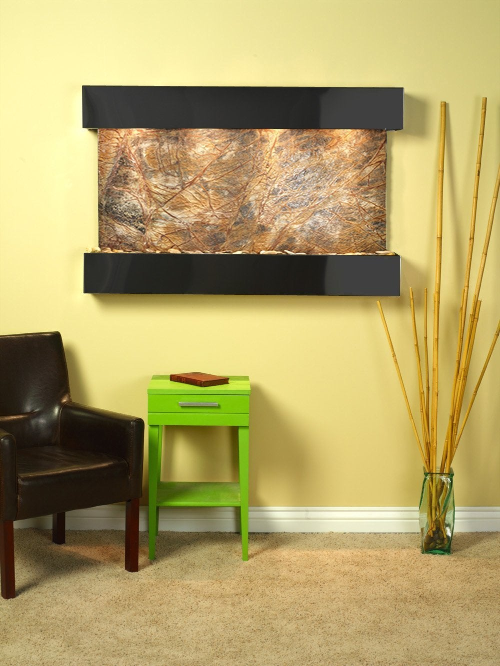 Brown Rainforest Marble Wall
