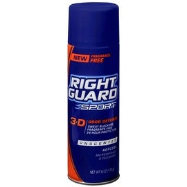 Right Guard Sport Anti-Perspirant Deodorant Spray Unscented 6 oz