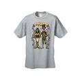 Men's T-Shirt Hasta Que La Muerte Nos Separe Till Death Do Us Apart Skull Tee - Thumbnail 4