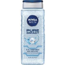 NIVEA Pure Impact Men's Body Wash 16.9 oz