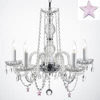 Authentic Empress Crystal Chandelier Lighting With Crystal*Stars*