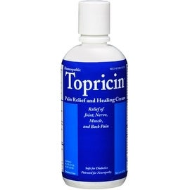 Topricin Pain Relief and Healing Cream 8 oz