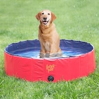 Frontpet Foldable Large Dog Pet Pool ( 50 Inch x 11.8 inch)