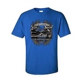 MEN'S BIKER T-SHIRT 'LET'S ROLL The Great American Pastime' USA S-XL 2X 3X 4X 5X - Thumbnail 3