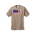 Men's USA Flag T Shirt 3D Patriotic Pride Stars & Stripes American Old Glory Tee - Thumbnail 7