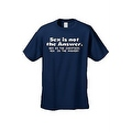 MEN'S FUNNY T-SHIRT Sex is not the Answer. Sex is the Question YES is the Answer - Thumbnail 0
