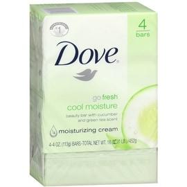 Dove Go Fresh Cool Moisture 17-ounce Beauty Bars