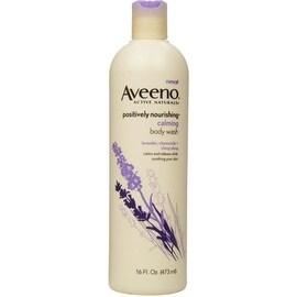 AVEENO Active Naturals Calming Body Wash,Lavender, Chamomile + Ylang Ylang 16 oz