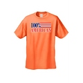 Men's T-Shirt USA Flag Pride 100-percent American Stars & Stripes Old Glory Patriotic Tee - Thumbnail 4