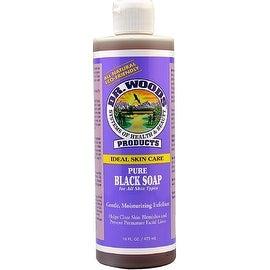 Dr. Woods Ideal Skin Care Pure Black Soap 16 oz