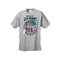 Men's T-Shirt USA Flag This Is My Gun Permit 2nd Amendment United States Tee - Thumbnail 6