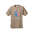 USA Flag Men's T Shirt Weed the People Stars & Stripes Pot Marijuana Smoking - Thumbnail 7