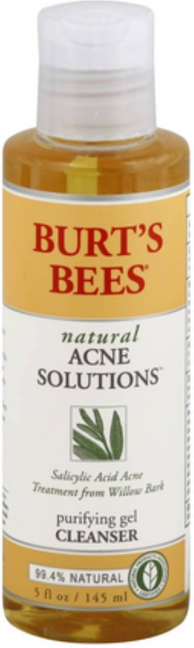 Burt's Bees Natural Acne Solutions Purifying Gel Cleanser 5 oz