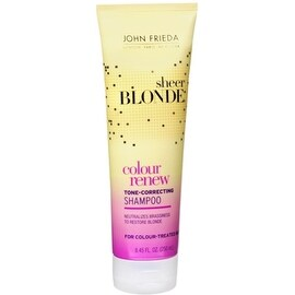 John Frieda sheer blonde Color Renew Tone 8.45-ounce Restoring Shampoo
