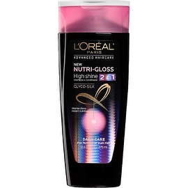 L'Oreal Paris Advanced Haircare Nutri-Gloss 2-in-1 High Shine Shampoo + Conditioner 12.60 oz