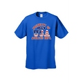 Men's T-Shirt USA Flag Pride Property of Athletic Dept. 1776 Old Glory Patriotic - Thumbnail 8