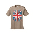 MEN'S T-SHIRT Distressed British Flag GREAT BRITAIN PATRIOTIC UNITED KINGDOM TEE - Thumbnail 5