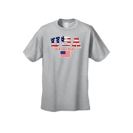 menu0027s usa flag tshirt original american pride stars u0026 stripes old glory patriotic - American Pride T Shirt