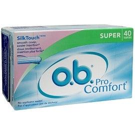 o.b. Pro Comfort Tampons, Super 40 ea