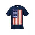 Men's T-Shirt USA Flag American Pride Stars & Stripes Old Glory Tee Distressed - Thumbnail 5