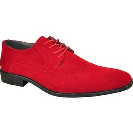 BRAVO Men Dress Shoe KING-3 Wingtip Oxford Shoe Red - Wide Width Available|https://ak1.ostkcdn.com/images/products/is/images/bf0fd9ab-15f4-4eeb-b9e9-f270b17db2be/BRAVO-Men-Dress-Shoe-KING-3-Wingtip-Oxford-Shoe-Red---Wide-Width-Available_270_270.jpg?impolicy=medium